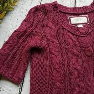 American Eagle • Cropped Knit Sweater